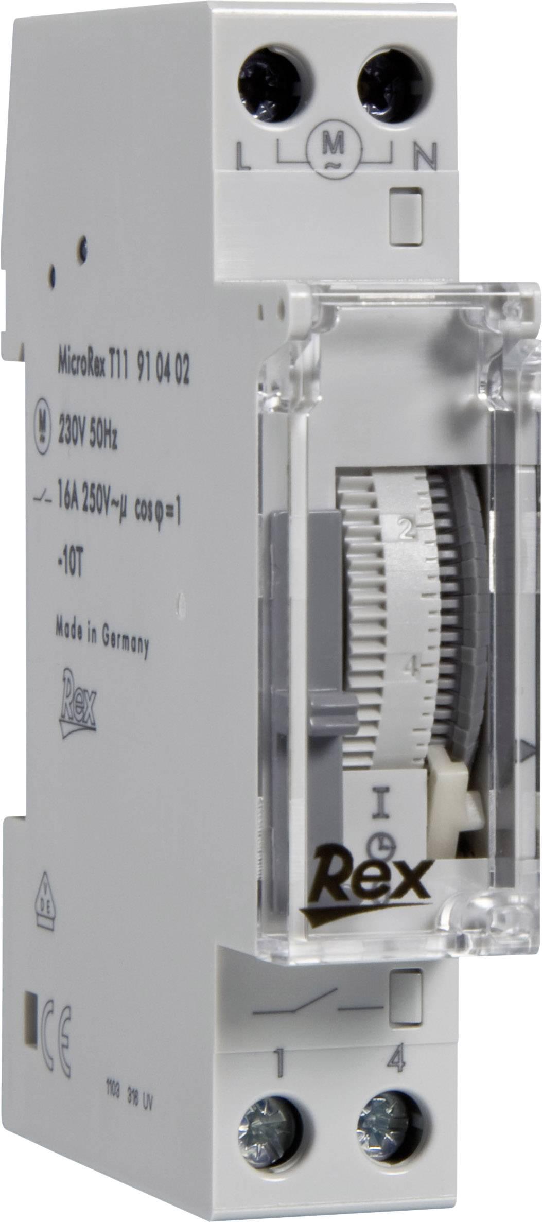 din rail mount timer rex zeitschaltuhren 916402 230 v from conrad com rh conrad com Le Grand Switch Magnesium Electric Timer Switch