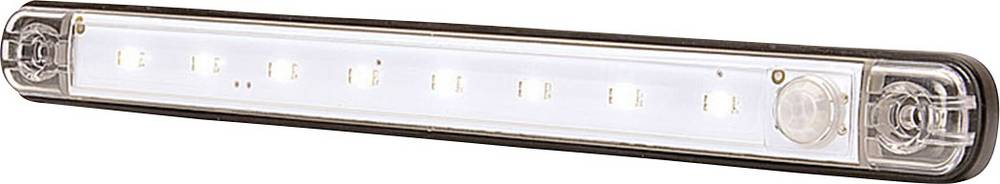 LED-kabinelys Højeffektive LED-lys (B x H x T) 238 x 25 x 10.4 mm SecoRüt Bevægelsesalarm, Tændes automatisk