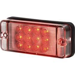 Højeffektive LED-lys Tågebaglygte SecoRüt bagved Rød