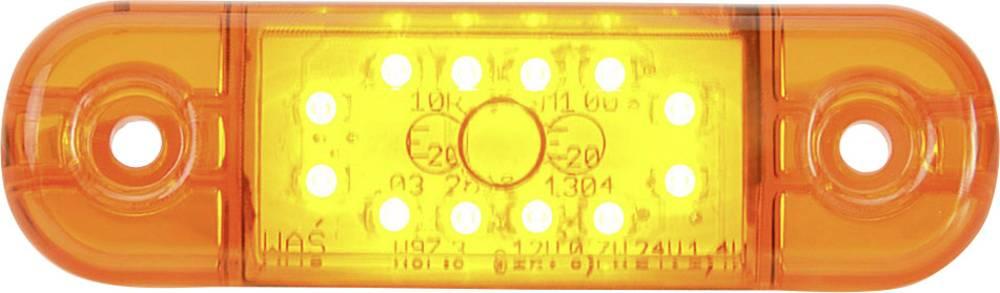 LED svjetlo za označavanje SecoRüt konturno svjetlo narančasto, prozirno 12 V, 24 V
