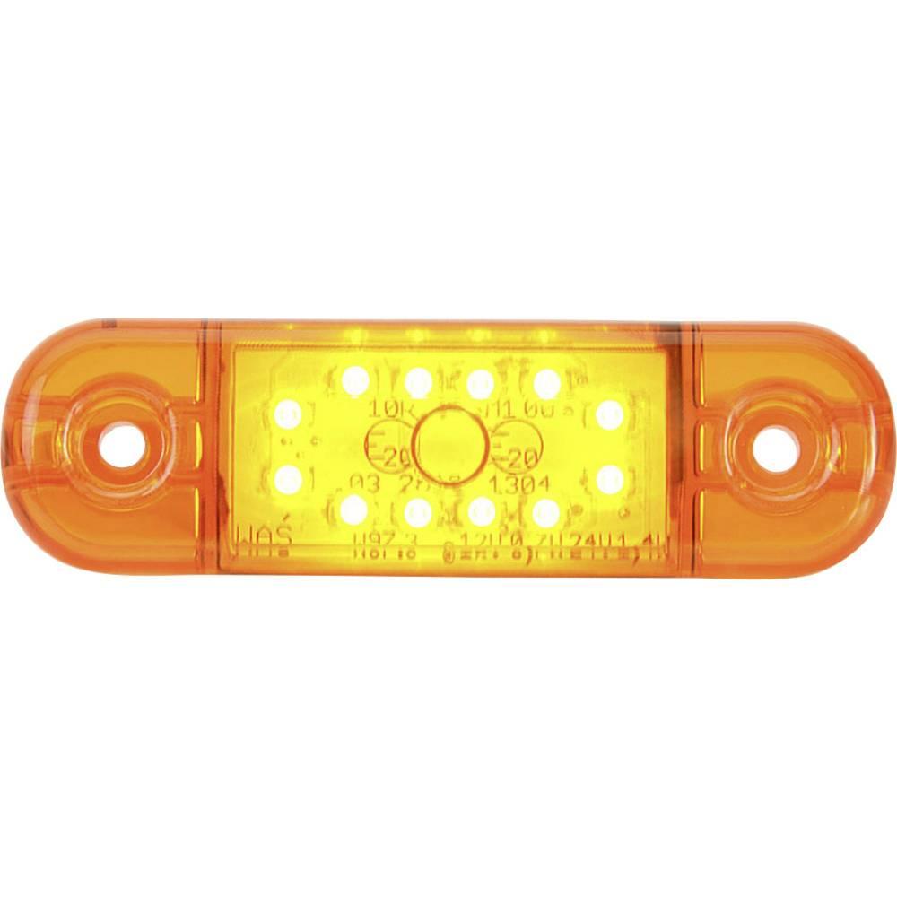 Højeffektive LED-lys Omrids-markeringslygte SecoRüt i siden Orange