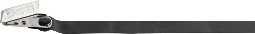 ESD zapestni trak za enkratno uporabo, črne barve Wolfgang Warmbier 2060.5410.K Klemme