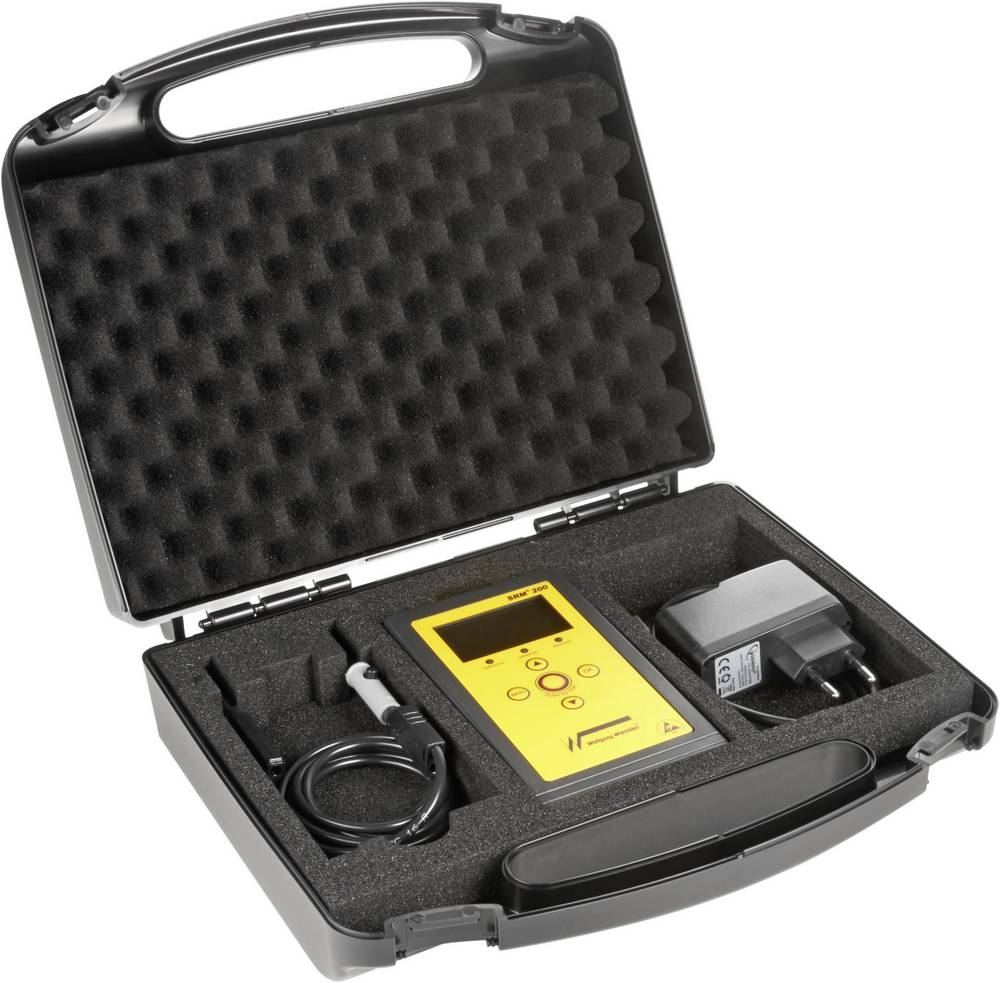 ESD-testapparat-sæt Wolfgang Warmbier 7100.SRM200.K Overflademodstand, Resistor