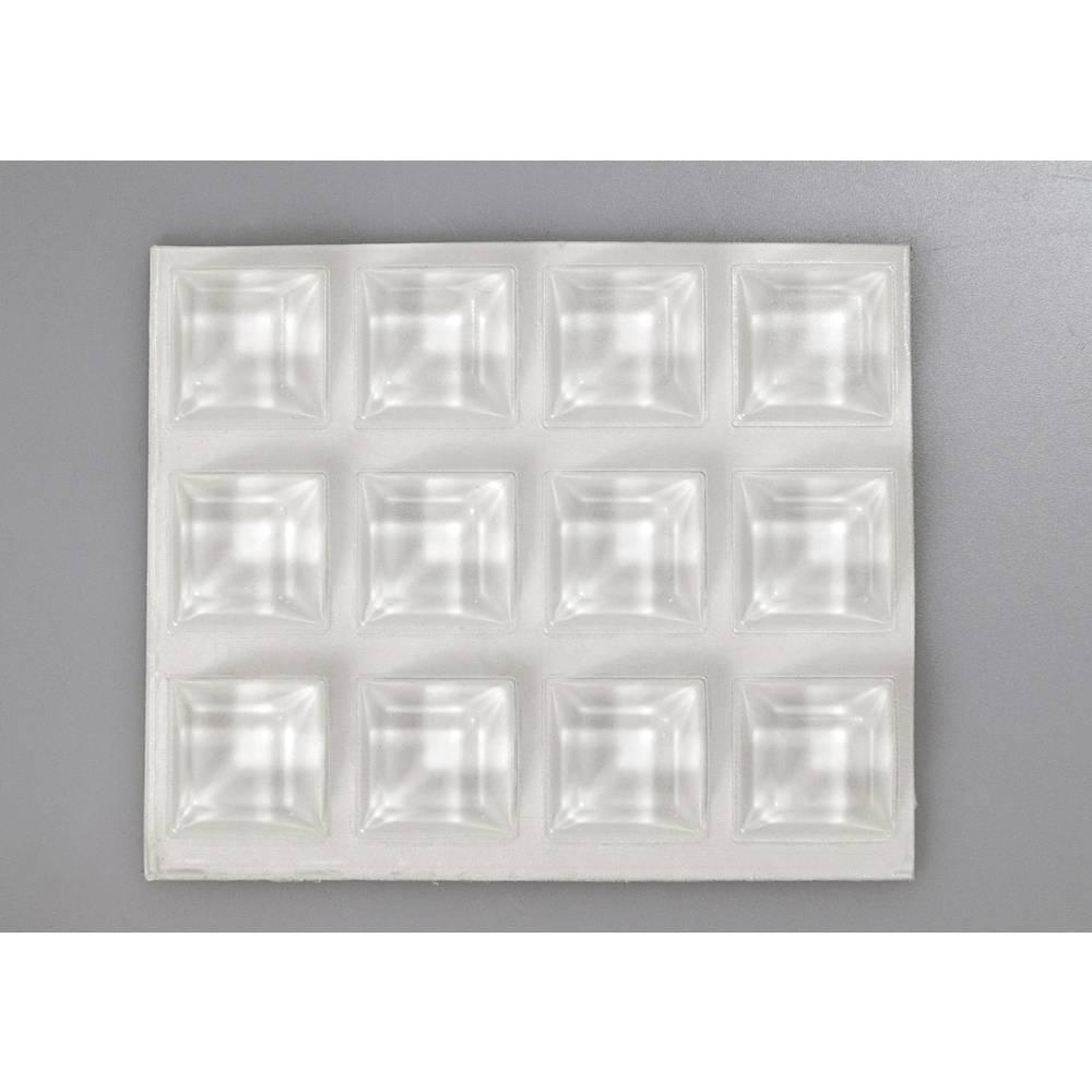 Bumpon elastični ublaživači, komplet TOOLCRAFT 2205C12-C ( x V) 20.5 mm x 7.5 mm poliuretan prozirna