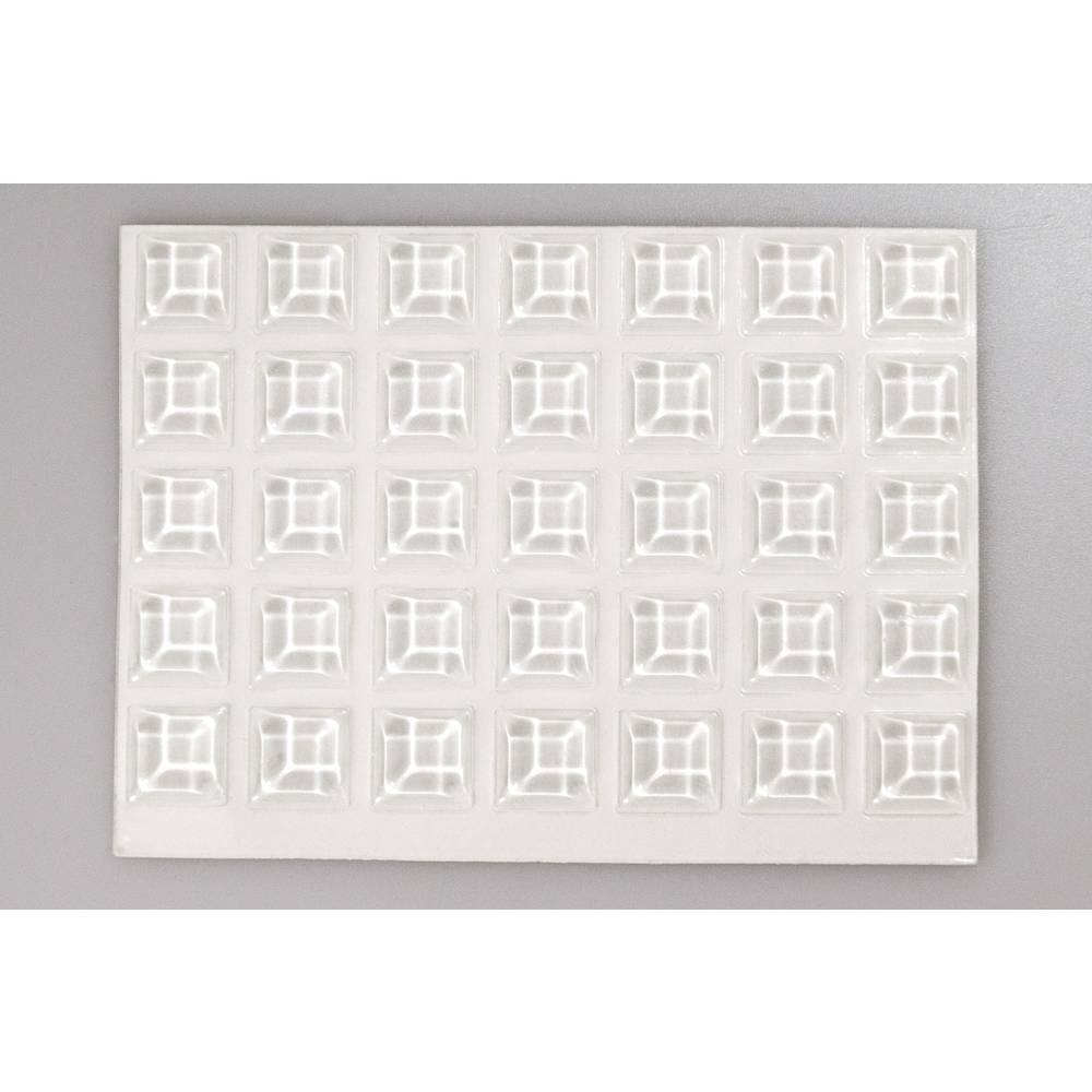 Bumpon elastični ublaživači, komplet TOOLCRAFT 2127C70-C ( x V) 12.7 mm x 3.1 mm poliuretan prozirna