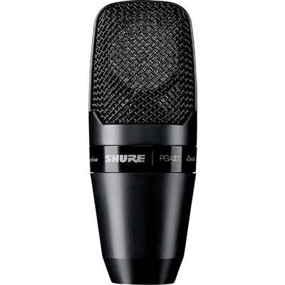 Studio microphone Shure PGA27-LC Transfer type:Corded incl. clip, incl. shock mount, Steel enclosure