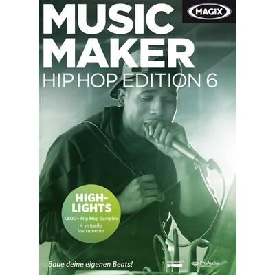 Magix Music Maker Hip Hop Edition 6 Full version, 1 license Windows Music