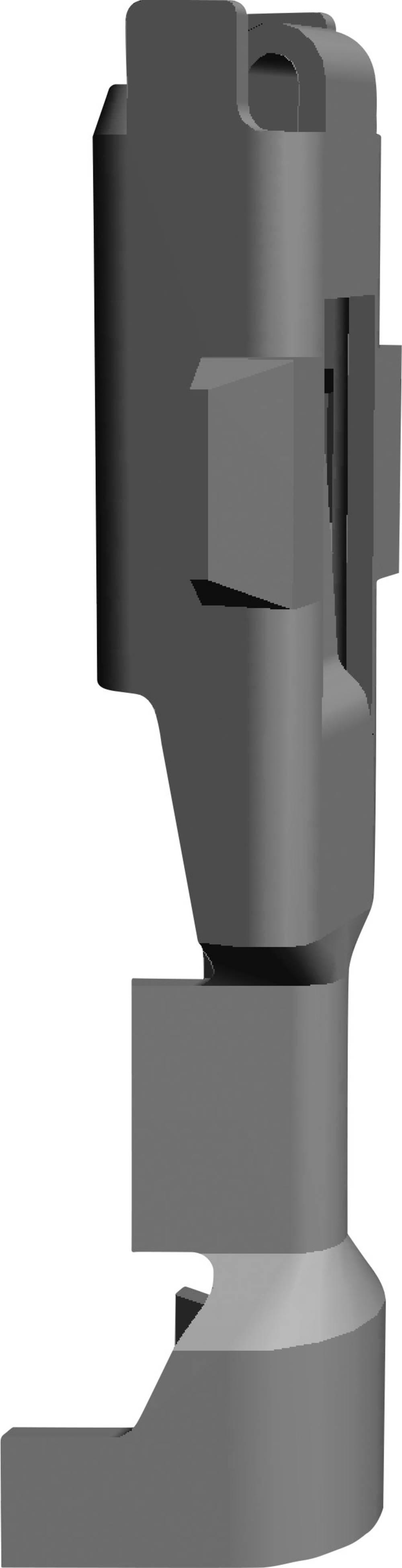 Crimpkontakter Econoseal J Serie Mark II (+) Samlet antal poler 1 TE Connectivity 171699-1 1 stk