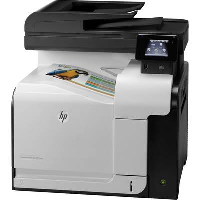 Image of HP LaserJet Pro 500 Color MFP M570dw Colour laser multifunction printer A4 Printer, scanner, copier, fax LAN, Wi-Fi, Duplex, ADF