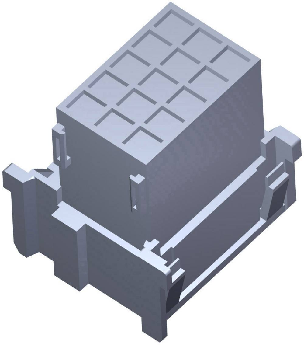 Tilslutningskabinet-printplade J-P-T Samlet antal poler 18 TE Connectivity 1-967629-4 1 stk