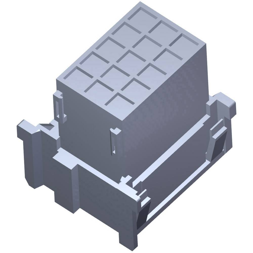 Ohišje za konektorje- platina TE Connectivity 1-967629-4 1 kos
