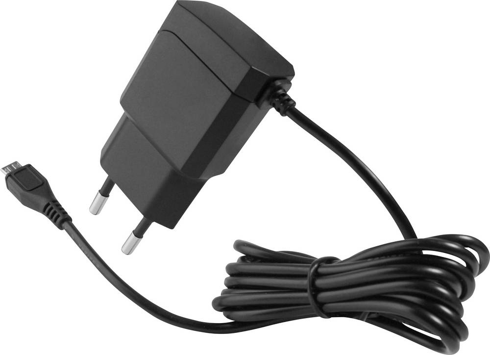 USB-oplader HN Power HNP11-MicroUSBV2-BL HNP11-MicroUSBV2-BL Stikdåse Udgangsstrøm max. 2100 mA 1 x Mikro-USB Egnet til Raspberr