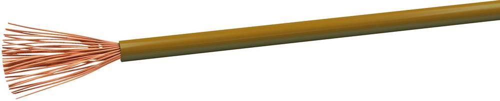Gumirani vodnik H07V-K 1 x 1.5 mm rjave barve VOKA Kabelwerk H07VK15BR 100 m