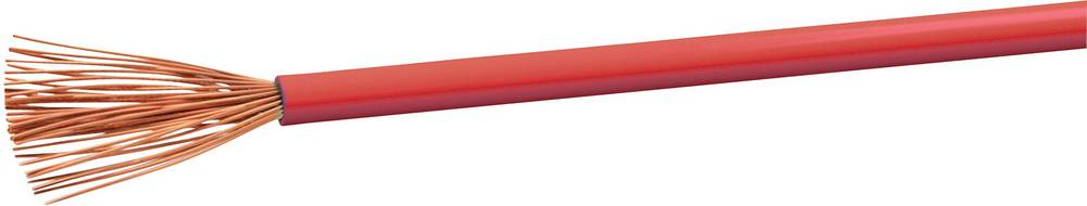 Gumirani vodnik H05V-K 1 x 0.75 mm rdeče barve VOKA Kabelwerk H05VK075RT 100 m
