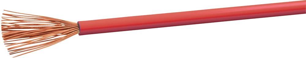 Gumirani vodnik H07V-K 1 x 2.5 mm rdeče barve VOKA Kabelwerk H07VK25RT 100 m