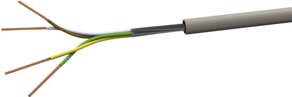 Krmilni kabel LiYY 4 x 0.25 mm sive barve (RAL 7001) VOKA Kabelwerk LIYY4X025 100 m