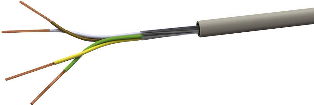 Krmilni kabel LiYY 5 x 0.5 mm sive barve (RAL 7001) VOKA Kabelwerk LIYY5X05 100 m
