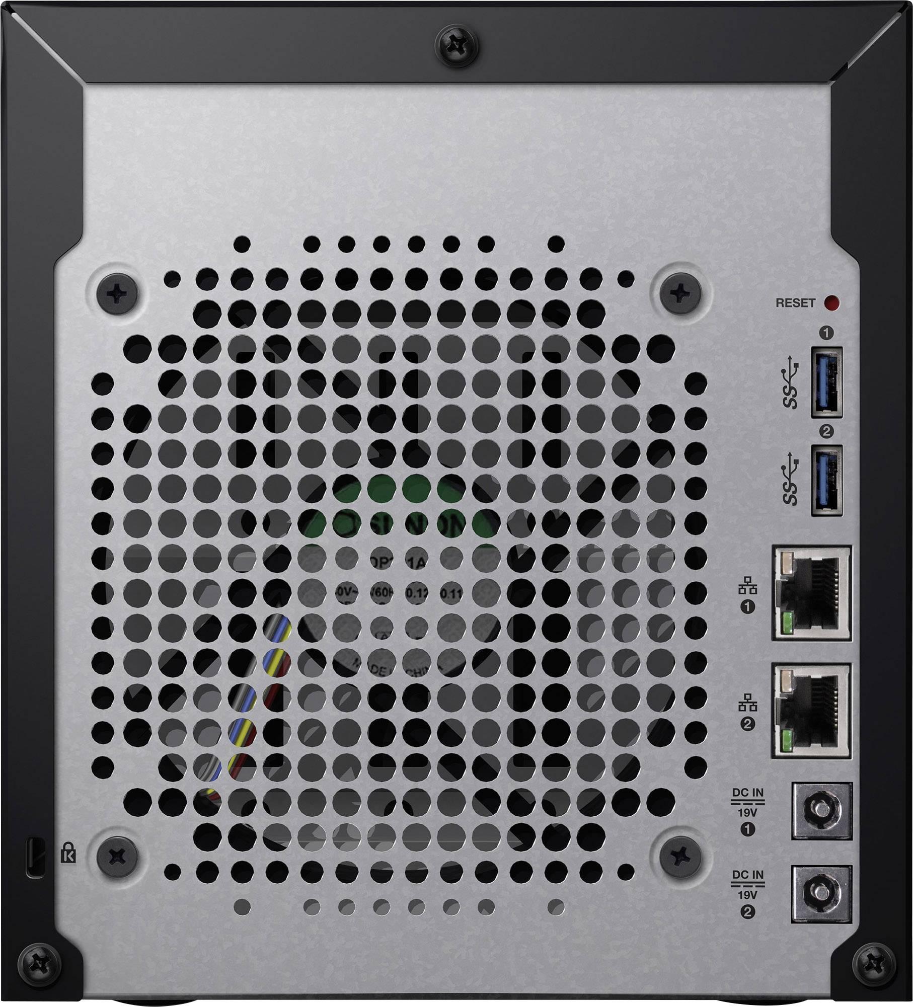 WD My Cloud™-Profiserie EX4100 WDBWZE0000NBK-EESN NAS server