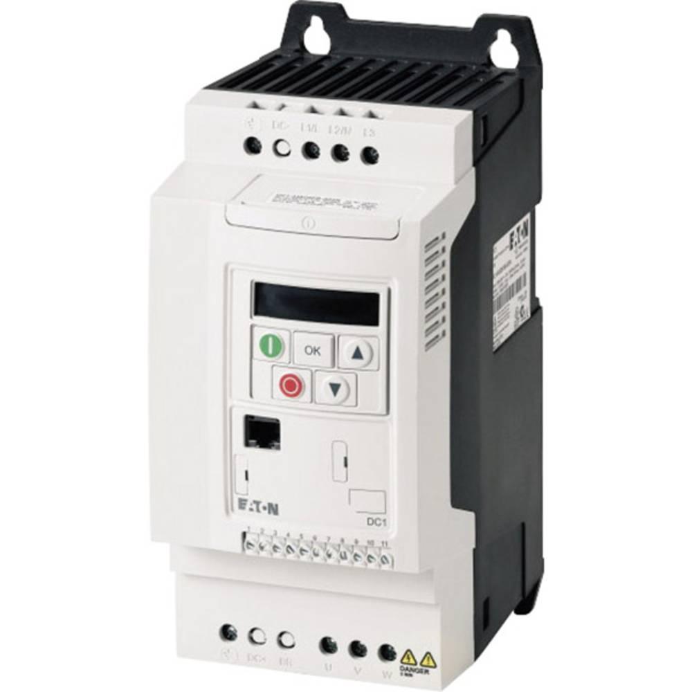 Ispravljač frekvencije DC1 DC1-344D1FB-A20N PowerXL™ Eaton 3-/3-fazni 1,5 kW 169481 3fazni 400 V/AC 1,5 kW