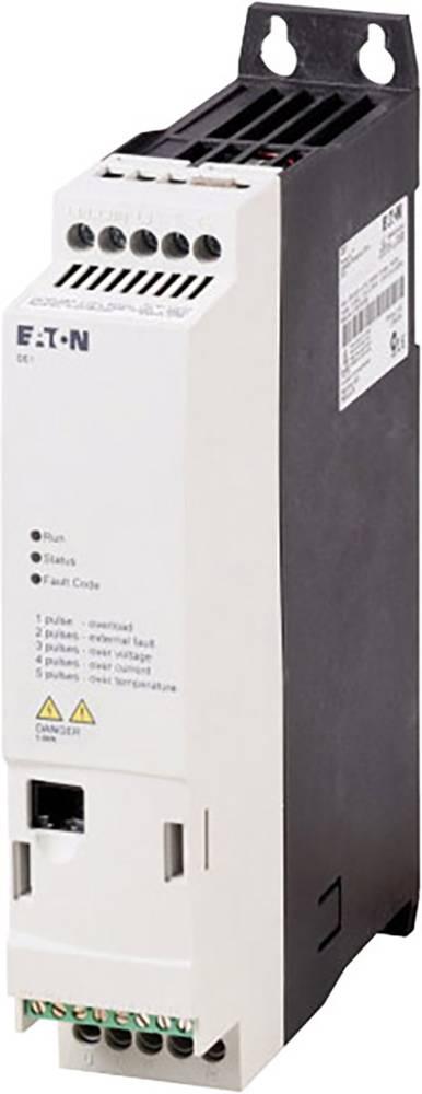 Pokretač broja okretaja DE1 Eaton PowerXL™ 1,5 kW DE1-343D6FN-N20N radni napon 400 V/AC izlazni napon 400 V/AC struja arma