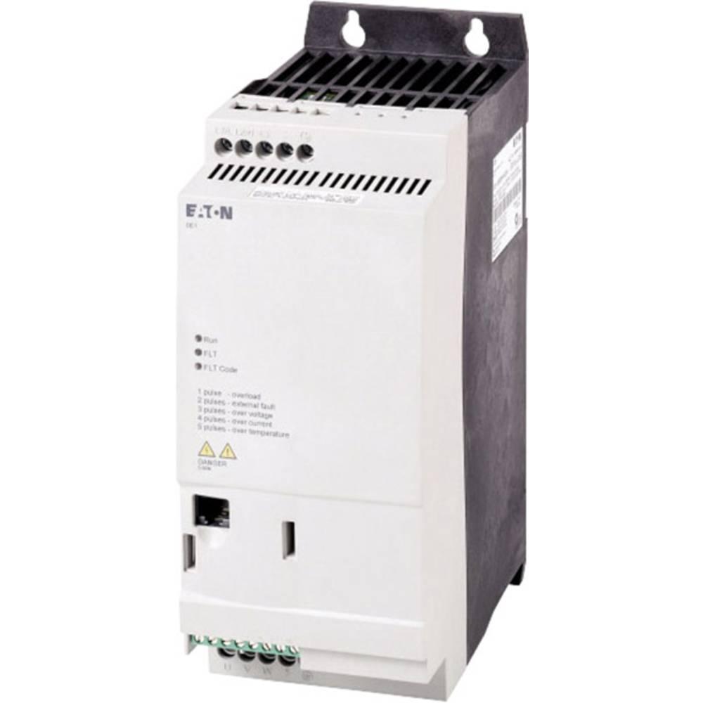 Pokretač broja okretaja DE1 Eaton PowerXL™ 5,5 kW DE1-34011FN-N20N radni napon 400 V/AC izlazni napon 400 V/AC struja arma