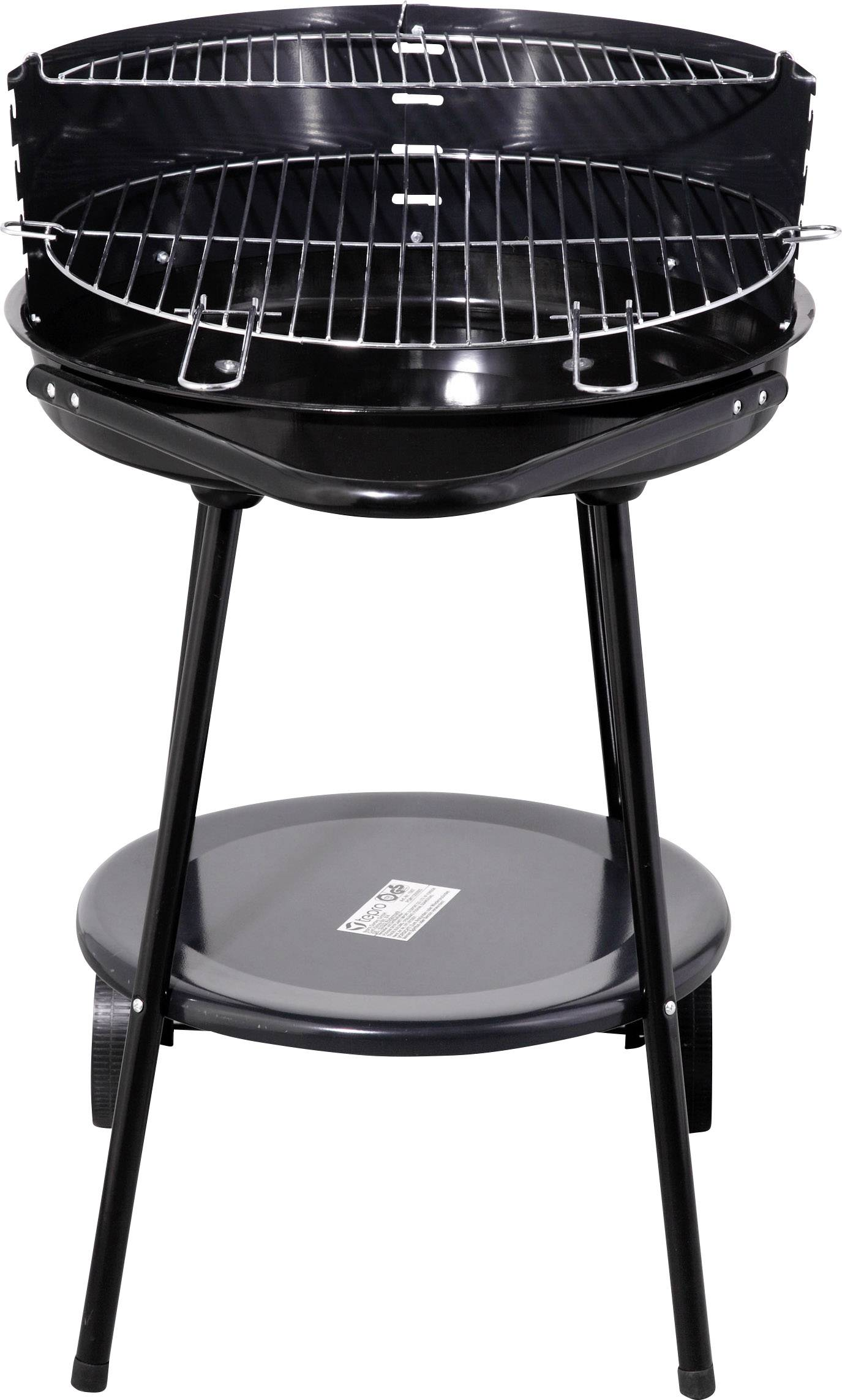 Tepro Garten Rundgrill Highland Round Charcoal Grill With Wind