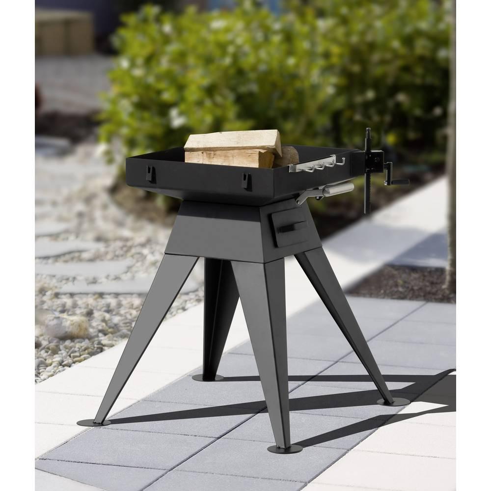 garten grill, tepro garten seaport standing bbq charcoal grill black from conrad, Design ideen