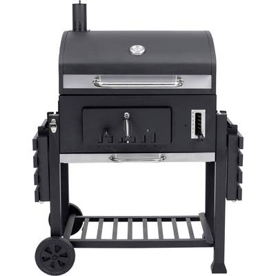 Tepro Garten Toronto Xxl Bbq Trolley Charcoal Grill Thermometer In