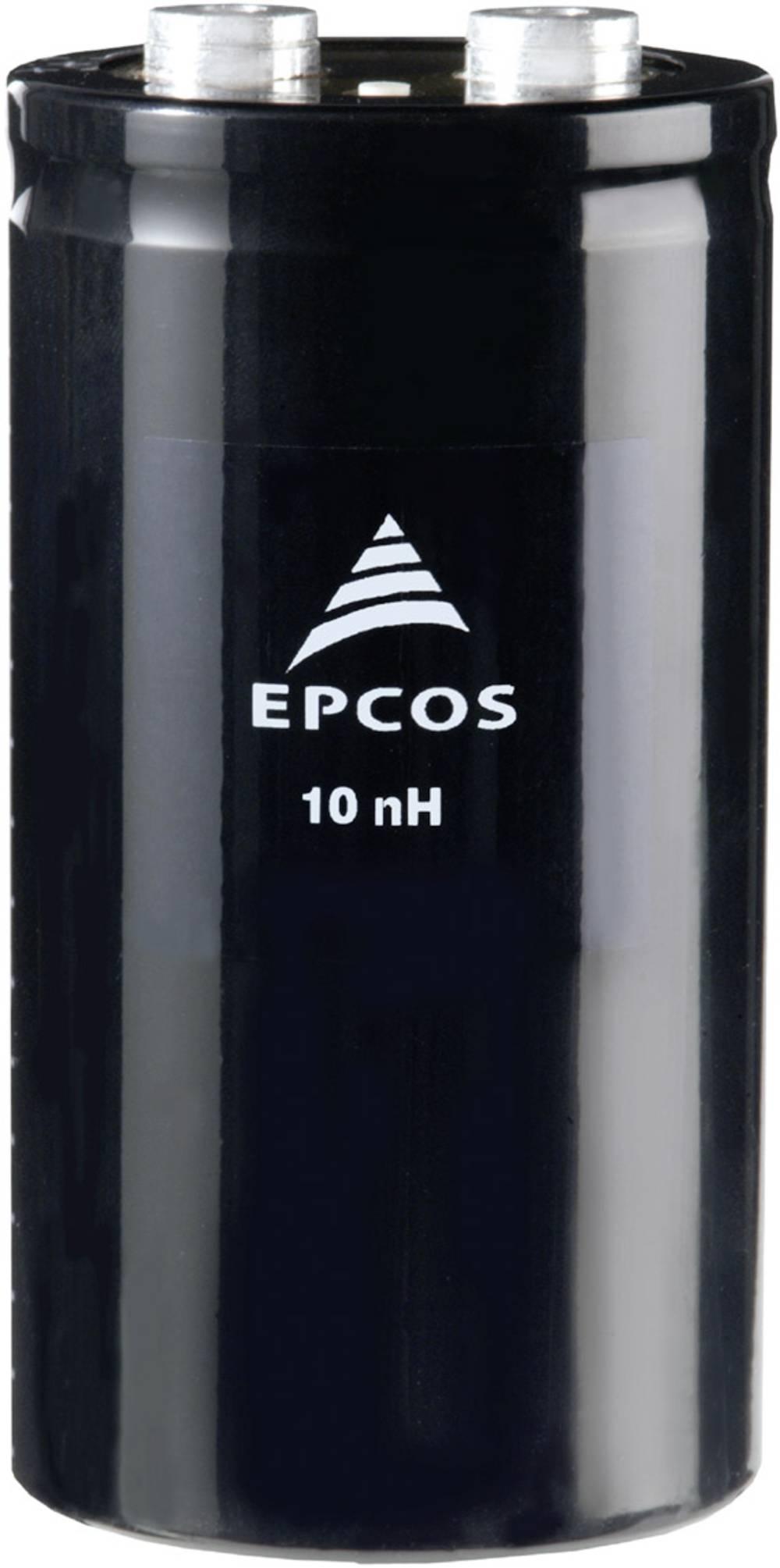 Elektrolitski kondenzator, vijčani priključak 10000 µF 450 V 20 % (promjer x V) 76.9 mm x 220.7 mm Epcos B43456A5109M000 2