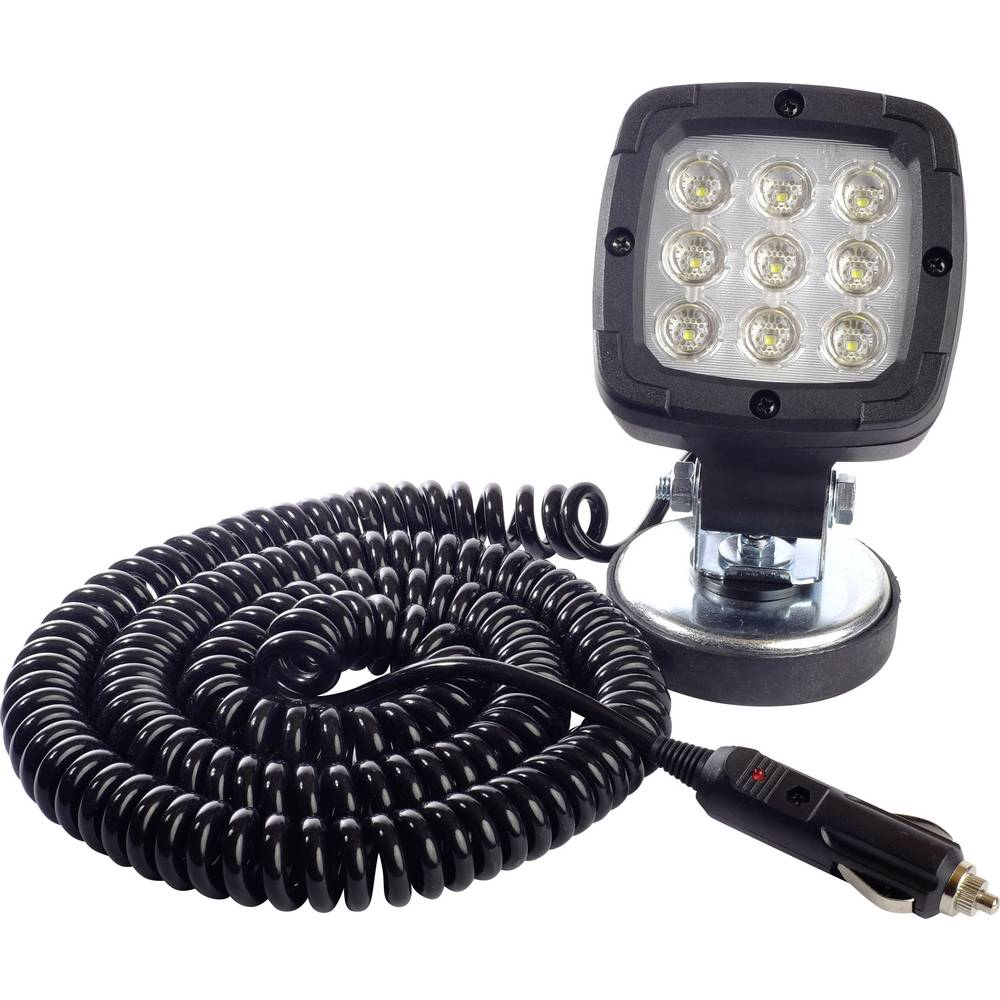 Arbejdslys SecoRüt FT-036 LED MAG M30 95037 12 V, 24 V, 36 V, 48 V (B x H x T) 100 x 165 x 75 mm 1300 lm 6000 K