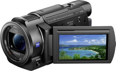 "Sony FDR-AX33 Camcorder 7.6 cm 3 "" 10.3 MPix Optical zoom: 10 x Black"