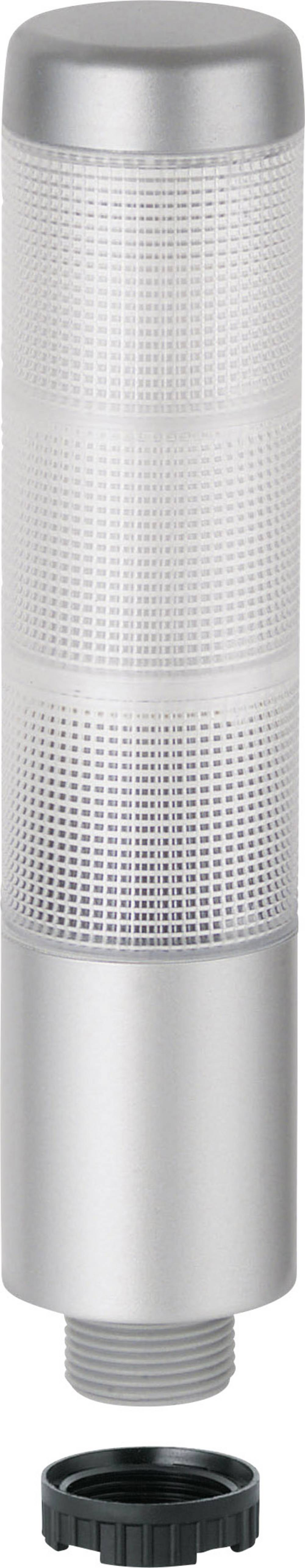 LED signalni stup Kompakt 37 698.310.75 Werma Signaltechnik s prozirnim kalotama 24 V AC/DC struja 150 mA boja: zelena, žuta, cr
