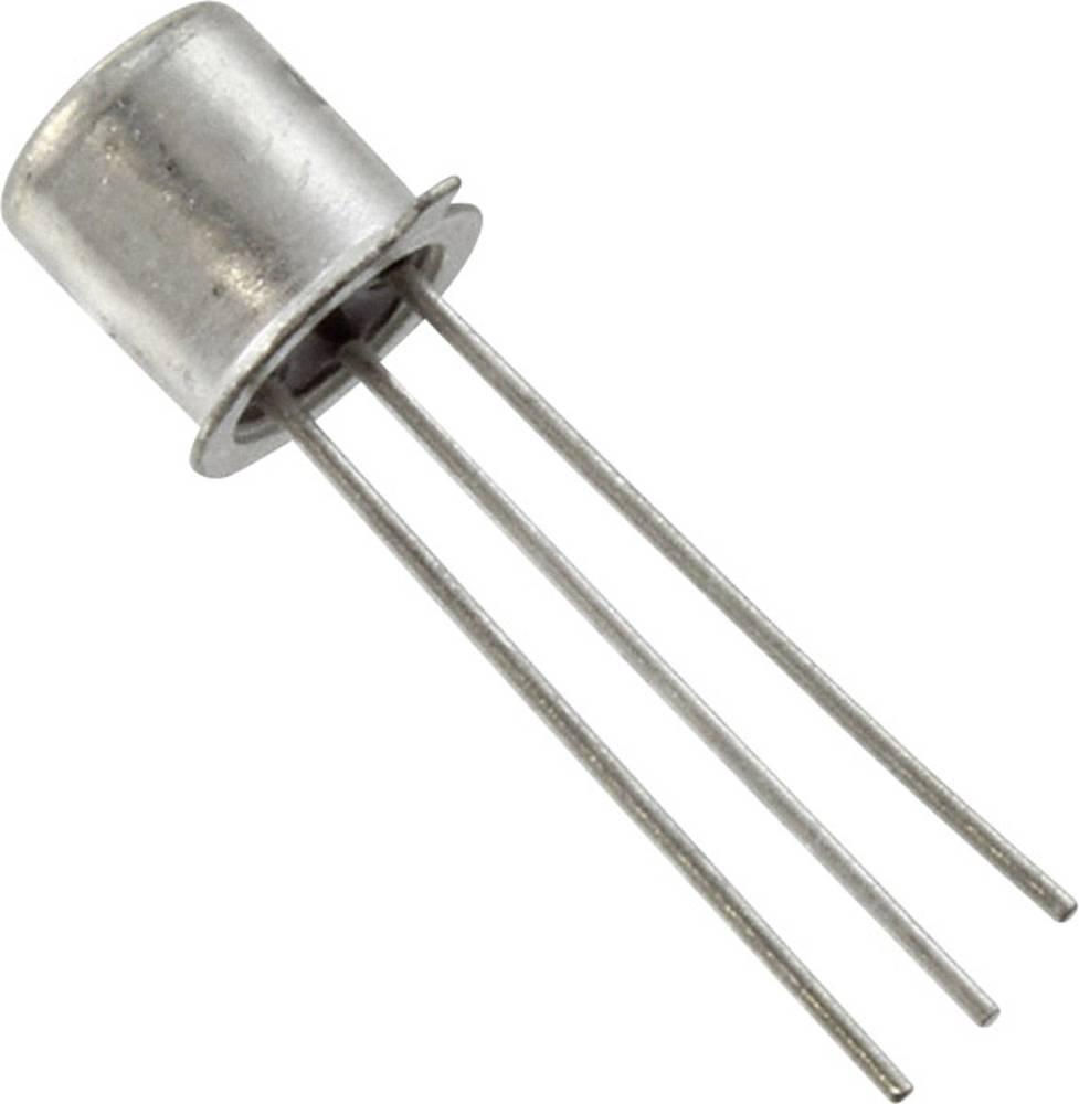 Tranzistor Central Semiconductor corp. 2N2222A NPN vrsta kućišta TO-18 I(C) 800 mA Emitter-Sperrspannung U(CEO) 40 V