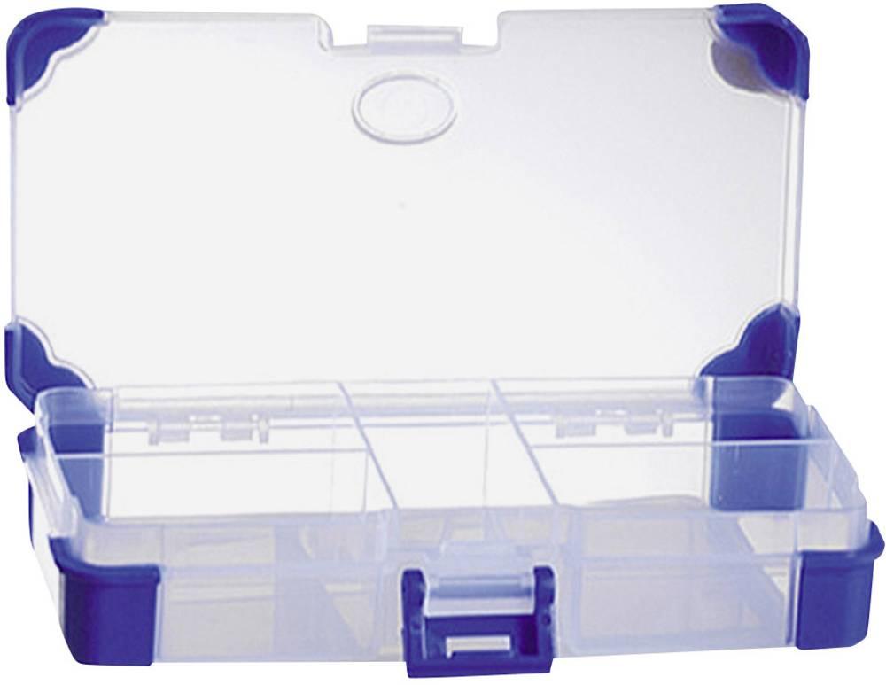 Sortirna škatla (D x Š x V) 140 x 70 x 30 mm VISO JAP 1407 št. predalov: 5 fiksna pregraditev