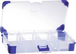 Sortimentskasse (L x B x H) 200 x 110 x 30 mm VISO Antal fag: 12 Variabel underopdeling