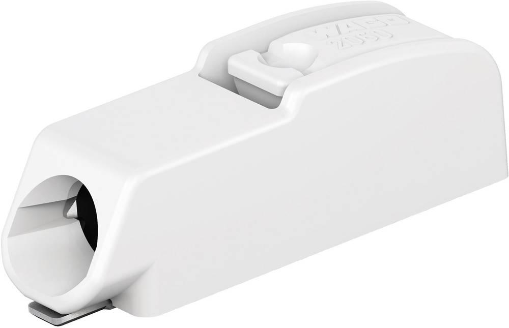 Fjederkraftsklemmeblok WAGO 0.75 mm² Poltal 1 Lysegrå 1500 stk
