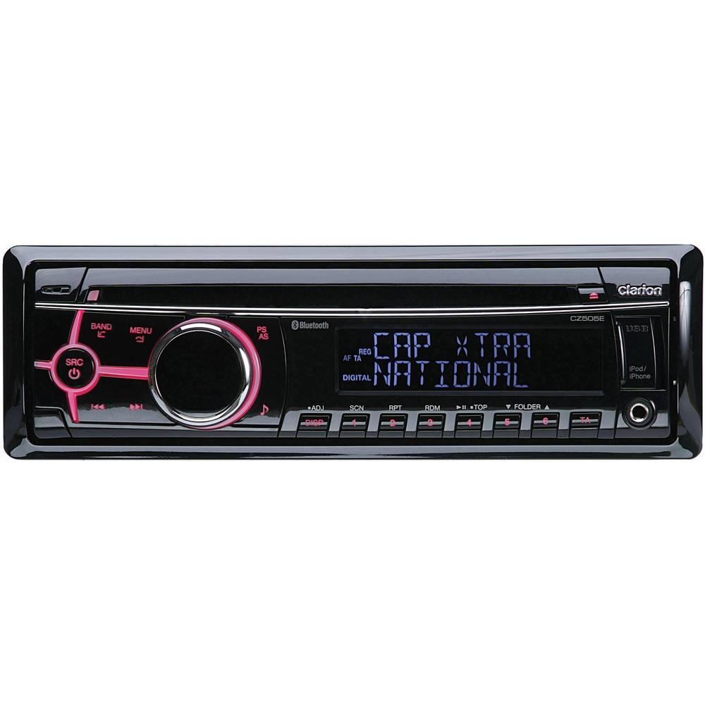 clarion cz505e car stereo dab tuner bluetooth handsfree. Black Bedroom Furniture Sets. Home Design Ideas