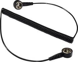 ESD ozemljitveni kabel 1.83 m Conrad Components SpKL-4-183-KK pritisni gumb 4 mm, pritisni gumb 4 mm