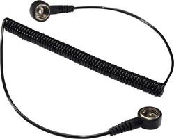ESD ozemljitveni kabel 1.83 m Conrad Components SpKL-10-183-KK pritisni gumb 10 mm, pritisni gumb 10 mm