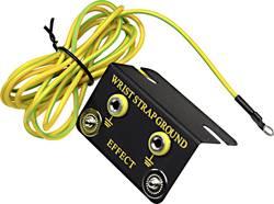 ESD ozemljitvena škatla, kotna oblika, vklj. ozemljitveni kabel 1.83 m Conrad Components EBO-SETW-4-183-R pritisni gumb 4 mm, uš