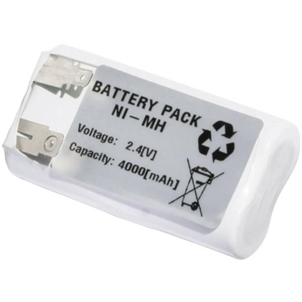 Emmerich akumulator za hitno svijetlo 4000 mAh s repovima za lemljenje 2.4 V 2443FA4000R 4/3FA 4000, s repovima za lemljenje