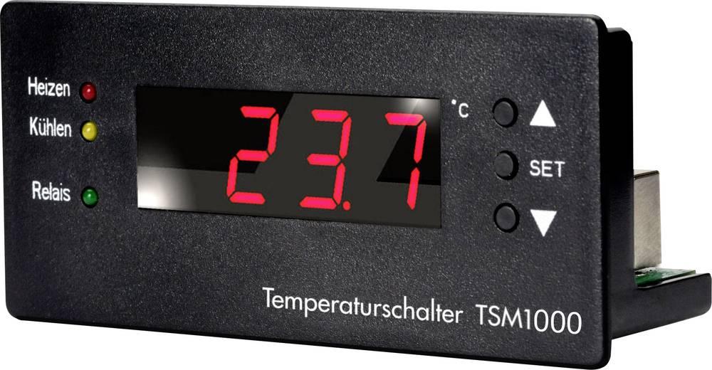 Regulator temperature H-Tronic TSM 1000 1114470 10 - 15 V/DC temperaturno područje (°C) -99 °C - +850 °C