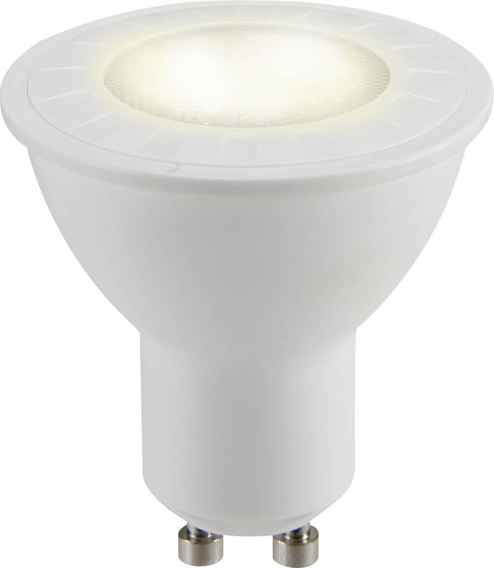 LED žarnica GU10 reflektorska 4.8 W = 50 W topla bela (premer x D) 50 mm x 54 mm EEK: A+ Sygonix 1 kos