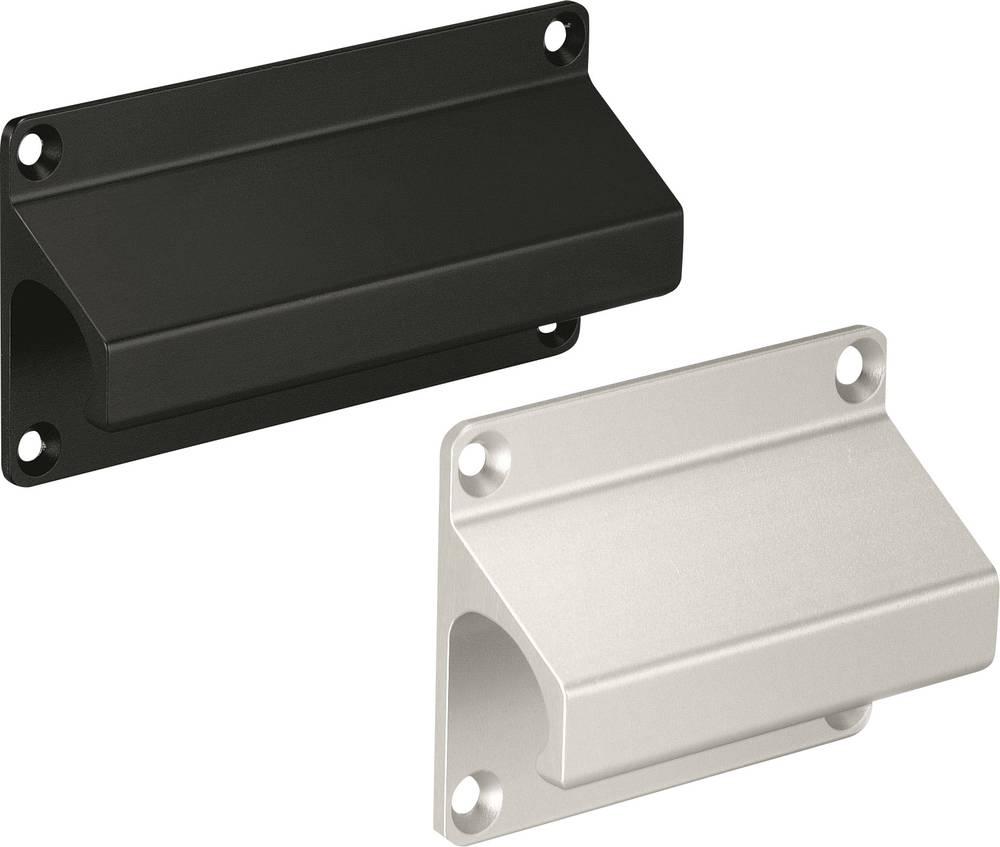 Pločasta ručka LF Rohde LF-01.088.04 (D x Š) 100 mm x 60 mm aluminij crna