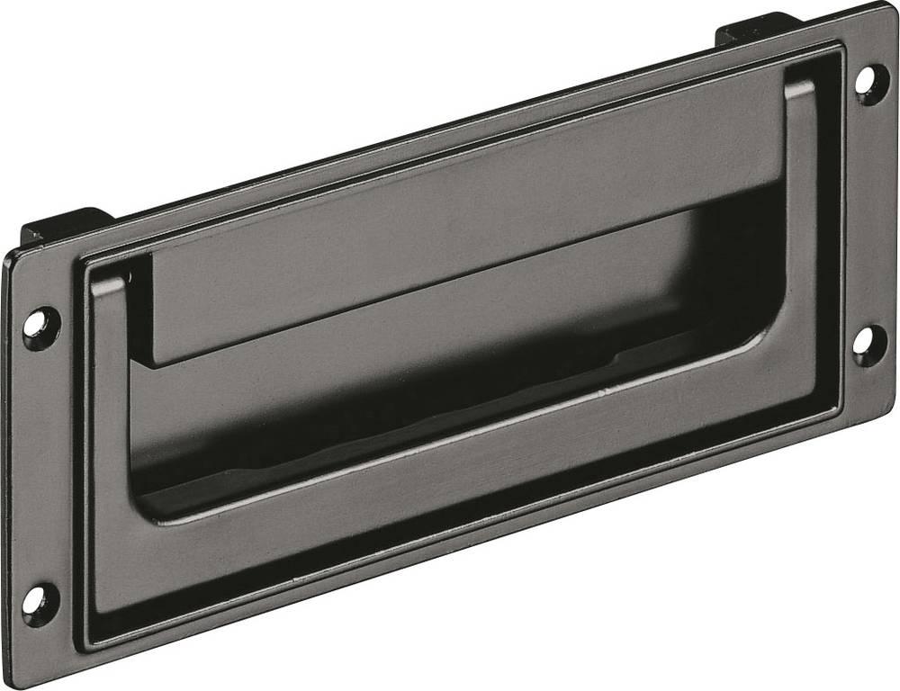 Preklopna ručka SK Rohde SK50.R184.9005 (D x Š) 200 mm x 80 mm aluminij crna