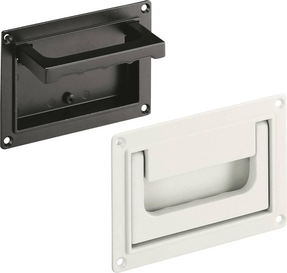 Preklopna ručka SK Rohde SK79.S118.9005 (D x Š) 130 mm x 91 mm aluminij crna