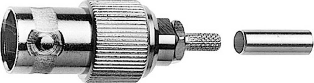 BNC-stikforbindelse Telegärtner J01003A0041 75 Ohm Tilslutning, lige 1 stk