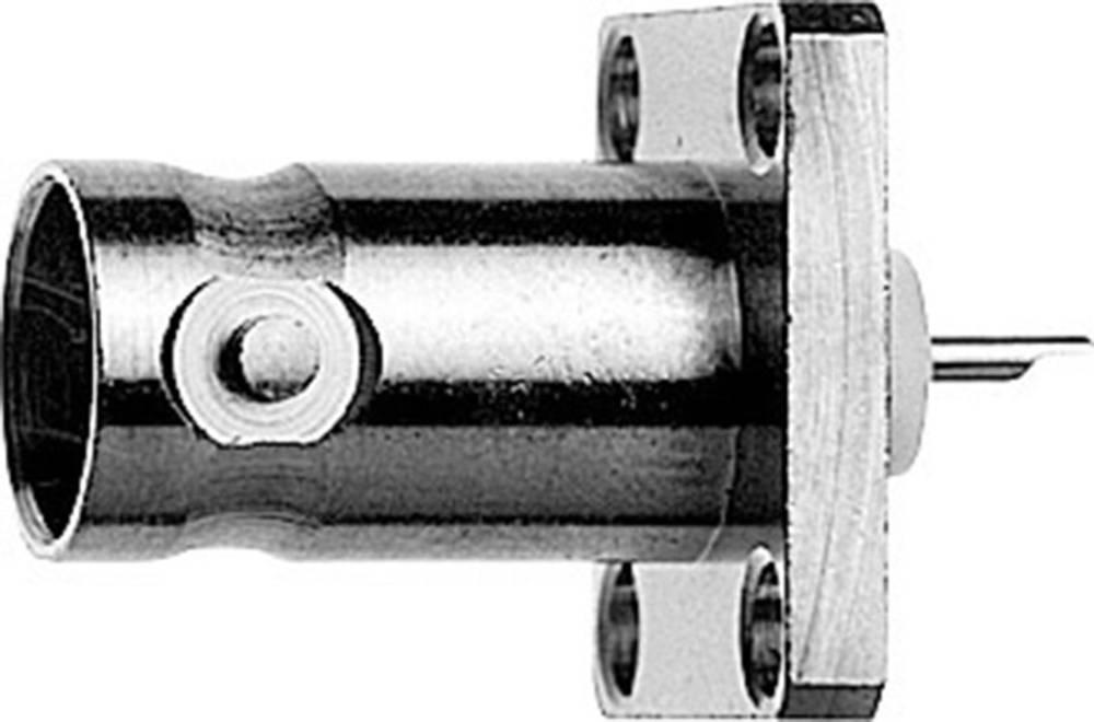 BNC-stikforbindelse Telegärtner J01001A0612 50 Ohm Flangetilslutning 1 stk