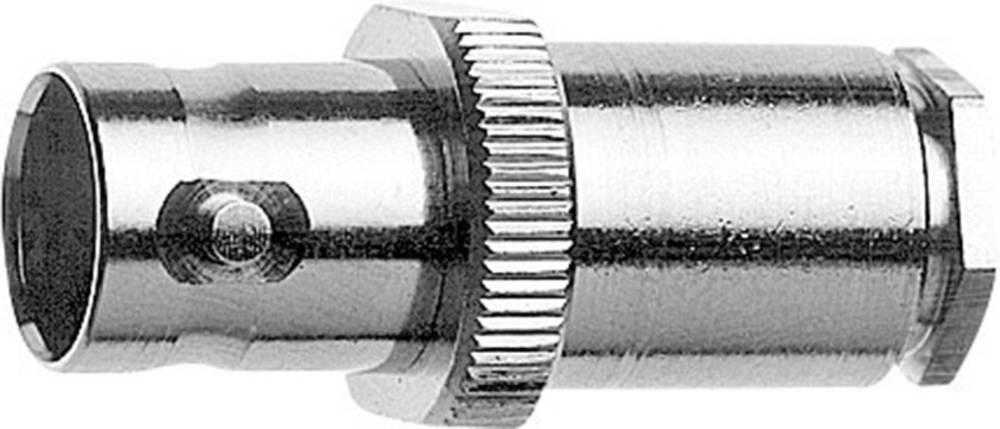 BNC-stikforbindelse Telegärtner J01003A0014 75 Ohm Tilslutning, lige 1 stk
