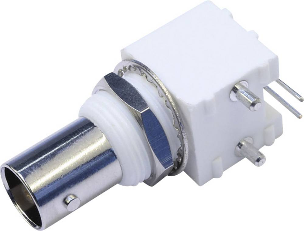 BNC-stikforbindelse Telegärtner J01001A0038 50 Ohm Tilslutning, indbygning vandret 1 stk